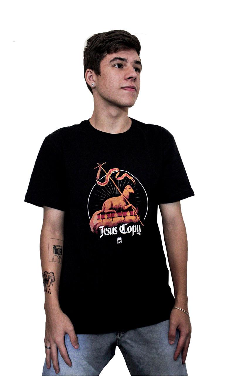 Camiseta Cordeiro - Jesuscopy - UNISSEX