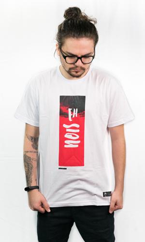 Camiseta EhNois Branca Masc.   - Loja JesusCopy