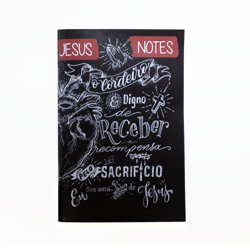 JESUSNOTES - Caderno de Anotações para Pregações (Individual)  - Loja JesusCopy