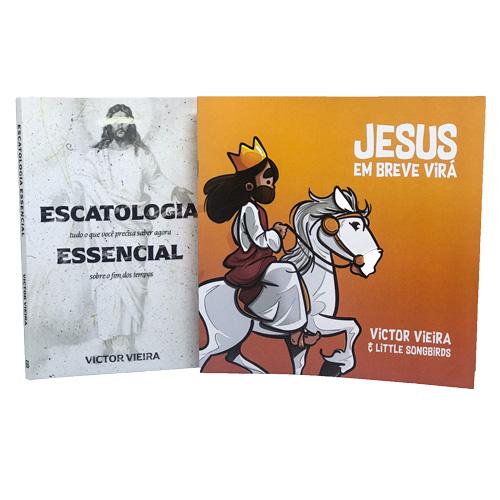 Kit Escatologia Essencial + Jesus Em Breve Virá Infantil - FRETE GRÁTIS  - Loja JesusCopy
