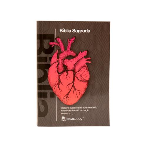 Mini Bíblia Coração NAA - Brochura  - Loja JesusCopy