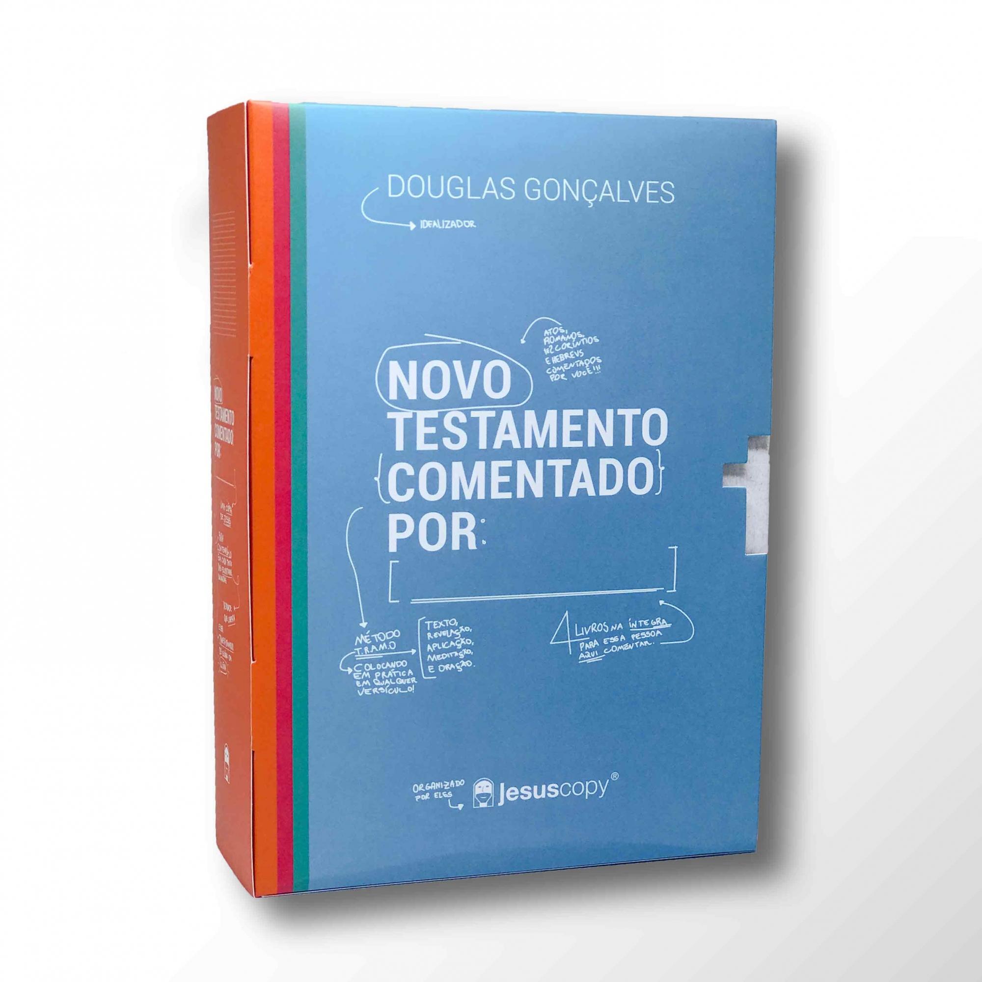 BOX NOVO TESTAMENTO COMENTADO POR (PART. 1) - Frete Grátis