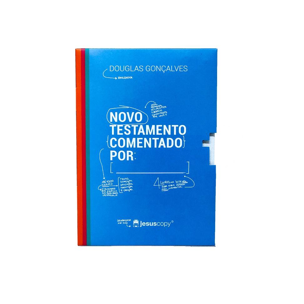 NOVO TESTAMENTO COMENTADO POR (PART. 1) - Frete Grátis  - Loja JesusCopy