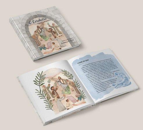 O Cordeiro - A Historia da Páscoa  - Loja JesusCopy
