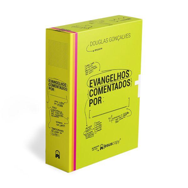BOX OS EVANGELHOS COMENTADOS - Frete Grátis