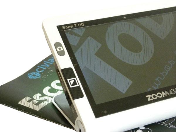 Vídeo Ampliador Portátil Zoomax Snow 7 polegadas HD