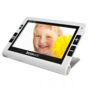 Vídeo Ampliador Portátil Zoomax Snow 7 polegadas HD - Loja Civiam