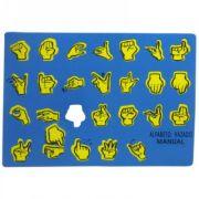 Alfabeto Libras Vazado - Loja Civiam