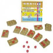 Alfabeto Braille Vazado - M.D.F - Loja Civiam