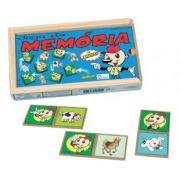 Jogo da Memória Animais com Libras