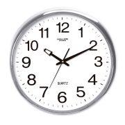Relógio de Parede - Números Ampliados Studio - Prata