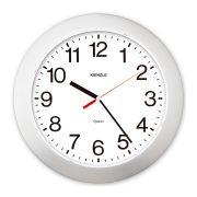 Relógio de Parede - Números Ampliados Constellation - Prata - Loja Civiam