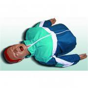 Manequim Torso para Treinamento de RCP e Intubação - 80D - Loja Civiam