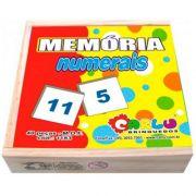 Jogo da Memória - Numerais - Loja Civiam