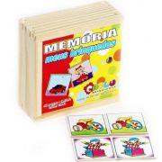 Jogo da Memória - Meus Brinquedos - Loja Civiam