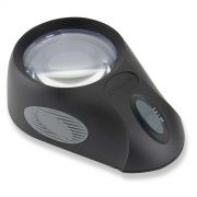 Lupa 5x com Suporte Iluminador LED