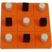 Jogo da Velha Braille e Tátil - Loja Civiam