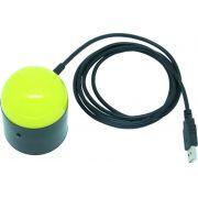 Lupa Eletrônica Esférica USB - Bolinha - Loja Civiam