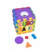 Cubo Tátil E.V.A - 22 peças - Loja Civiam