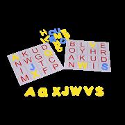 Alfabeto Bingo de Letras EVA