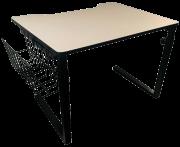 Mesa Adaptada para Cadeirante Modelo Estudante - Bege - Loja Civiam