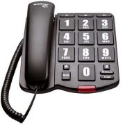 Telefone com Fio e Teclas Ampliadas para Baixa Visão - Loja Civiam