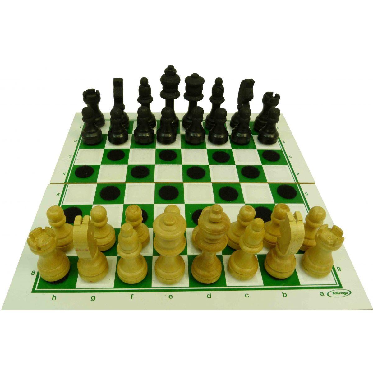 Xadrez e Damas Adaptado para Deficientes Visuais