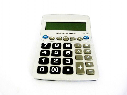 Calculadora para Baixa Visão - Teclas Ampliadas