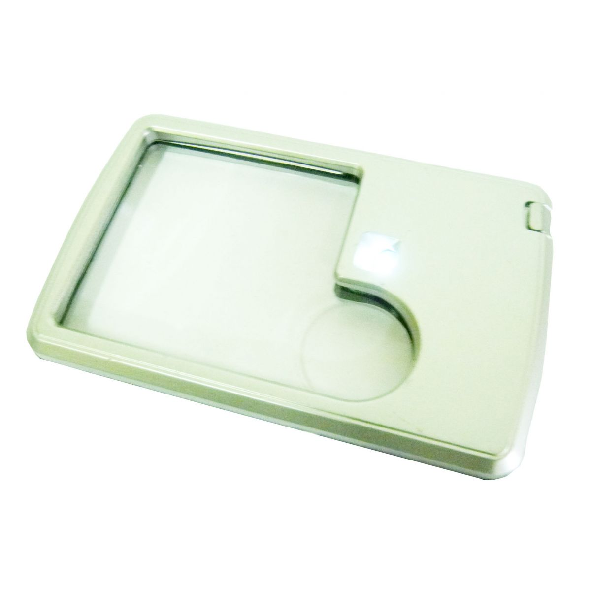 Lupa Formato Cartão Iluminada 3x