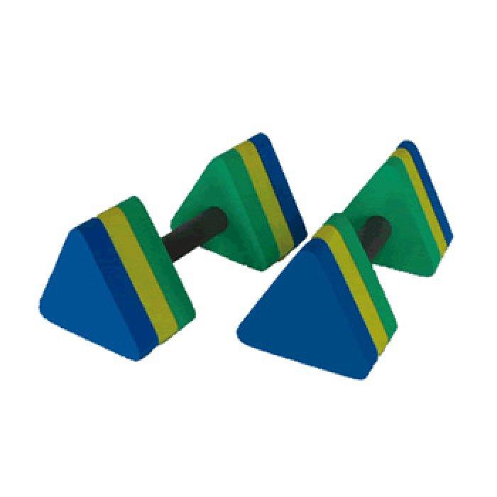 Halteres Triangular para Hidroginástica P