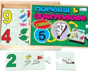 Numeral e Quantidade Libras