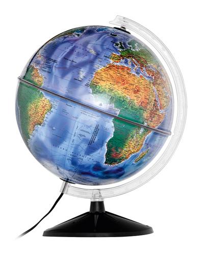 Globo Terrestre Político Iluminado - Mondo