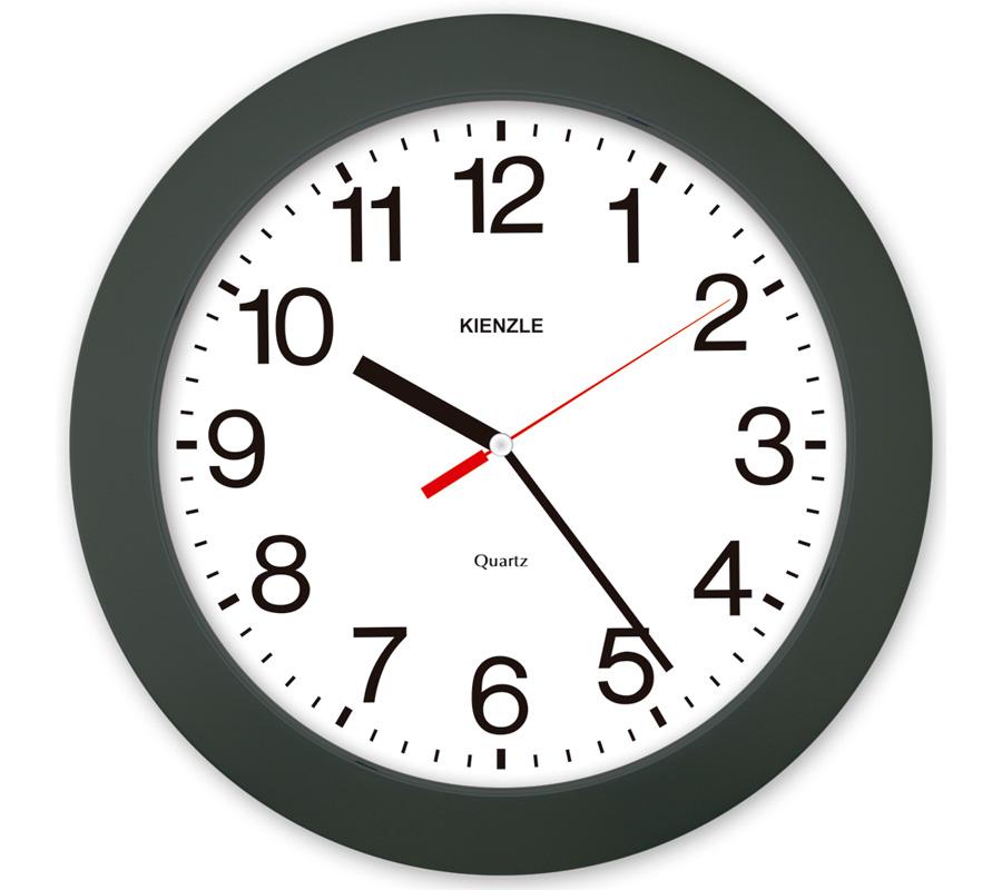 Relógio de Parede - Números Ampliados Constellation - Preto