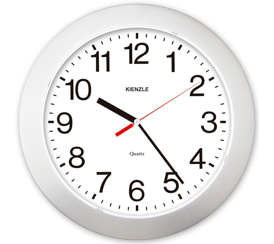 Relógio de Parede - Números Ampliados Constellation - Prata