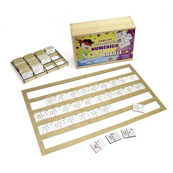 Jogo de Associação Numérica - Braille
