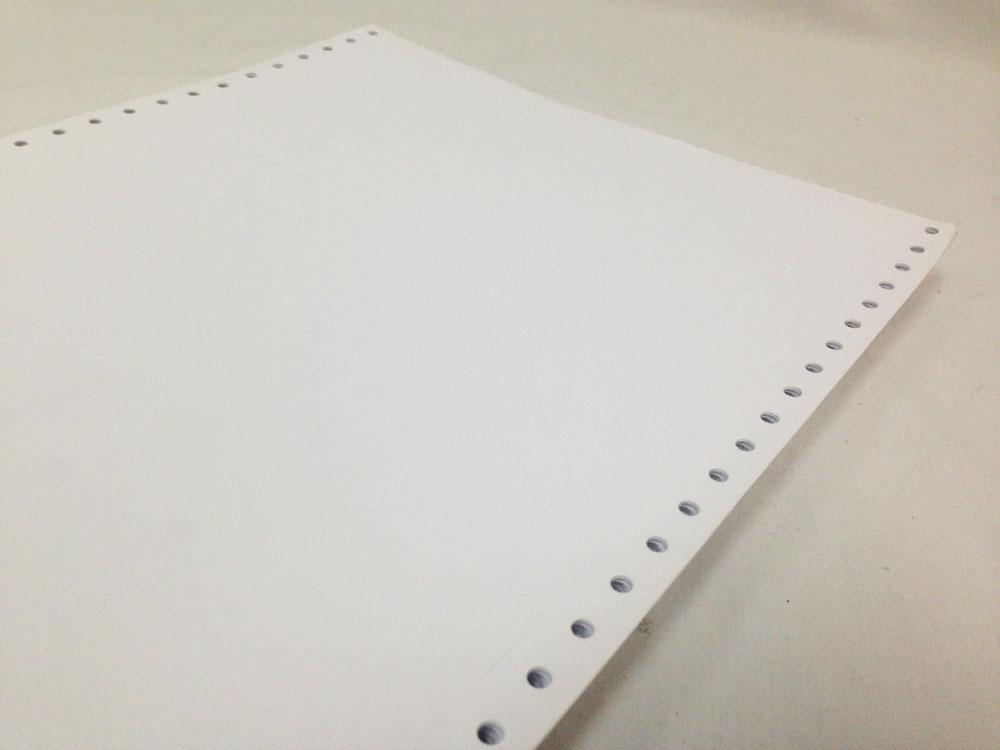 Papel Braille Formulário Contínuo Branco 1500 folhas