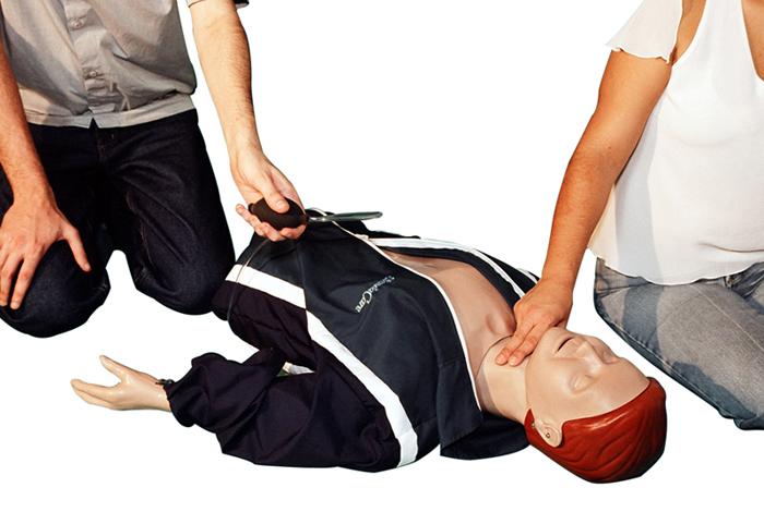 Torso com Braços e Pulsação Carótida RCP - 40D