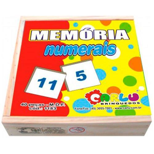 Jogo da Memória - Numerais