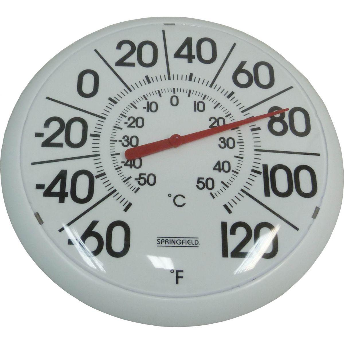 Termômetro com Números Ampliados