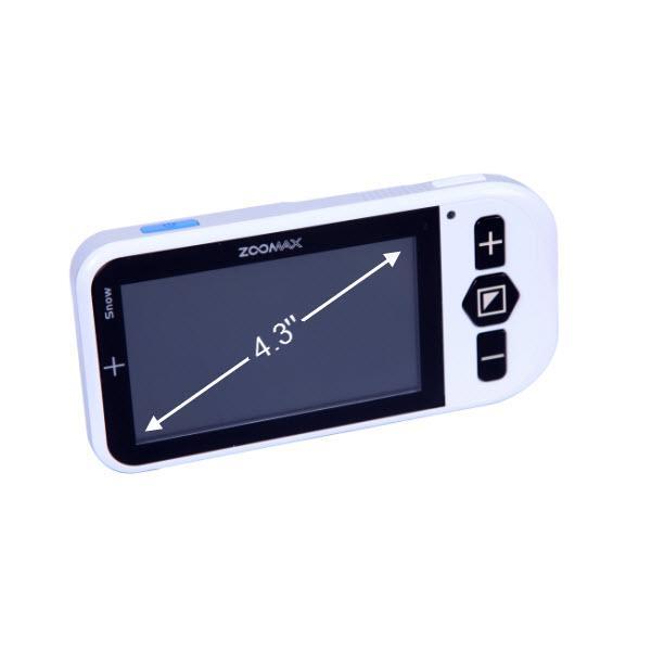 Vídeo Ampliador Portátil Zoomax Snow 4.3