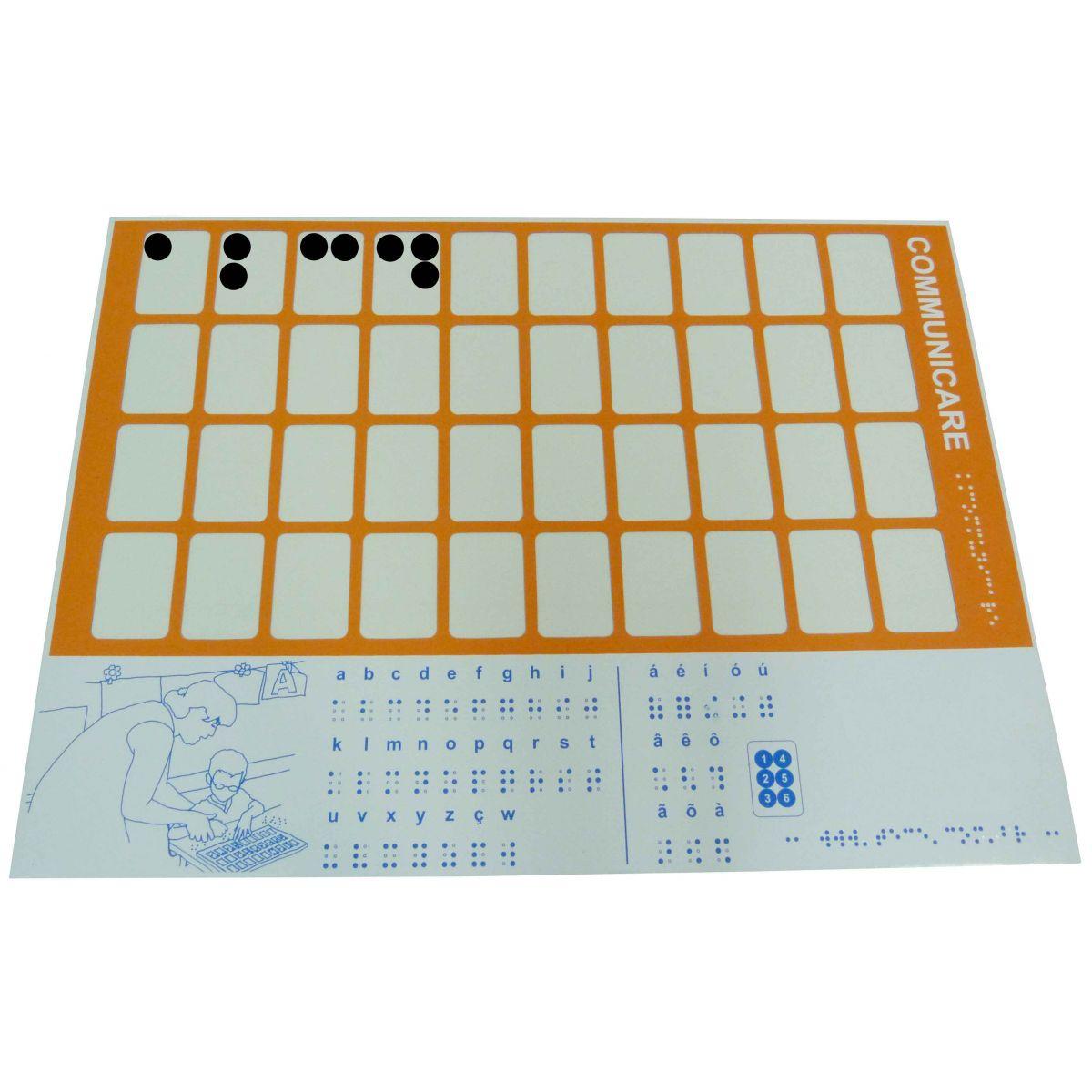 Lousa Magnética Braille - Communicare