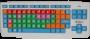 Teclado Colorido e Ampliado para Baixa Visão USB - Padrão ABNT2