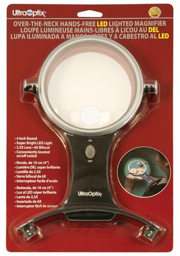 Lupa de Pescoço com Iluminação LED 2,5X