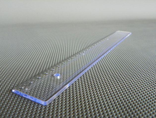Régua em Braille 30cm
