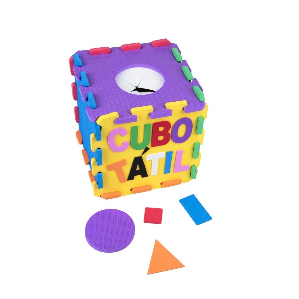 Cubo Tátil E.V.A - 22 peças