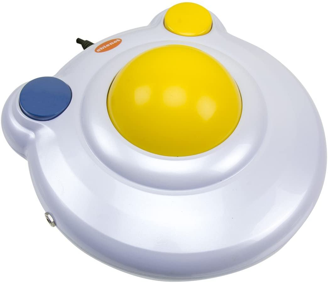 Big Trackball - Mouse Estacionário com Esfera Gigante