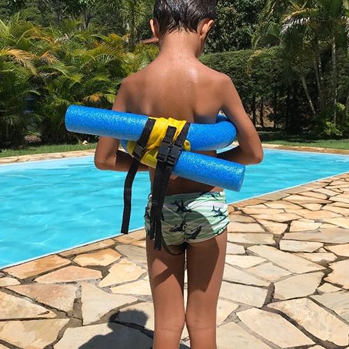 Boia de Segurança Adaptada para Terapia na Água - Azul