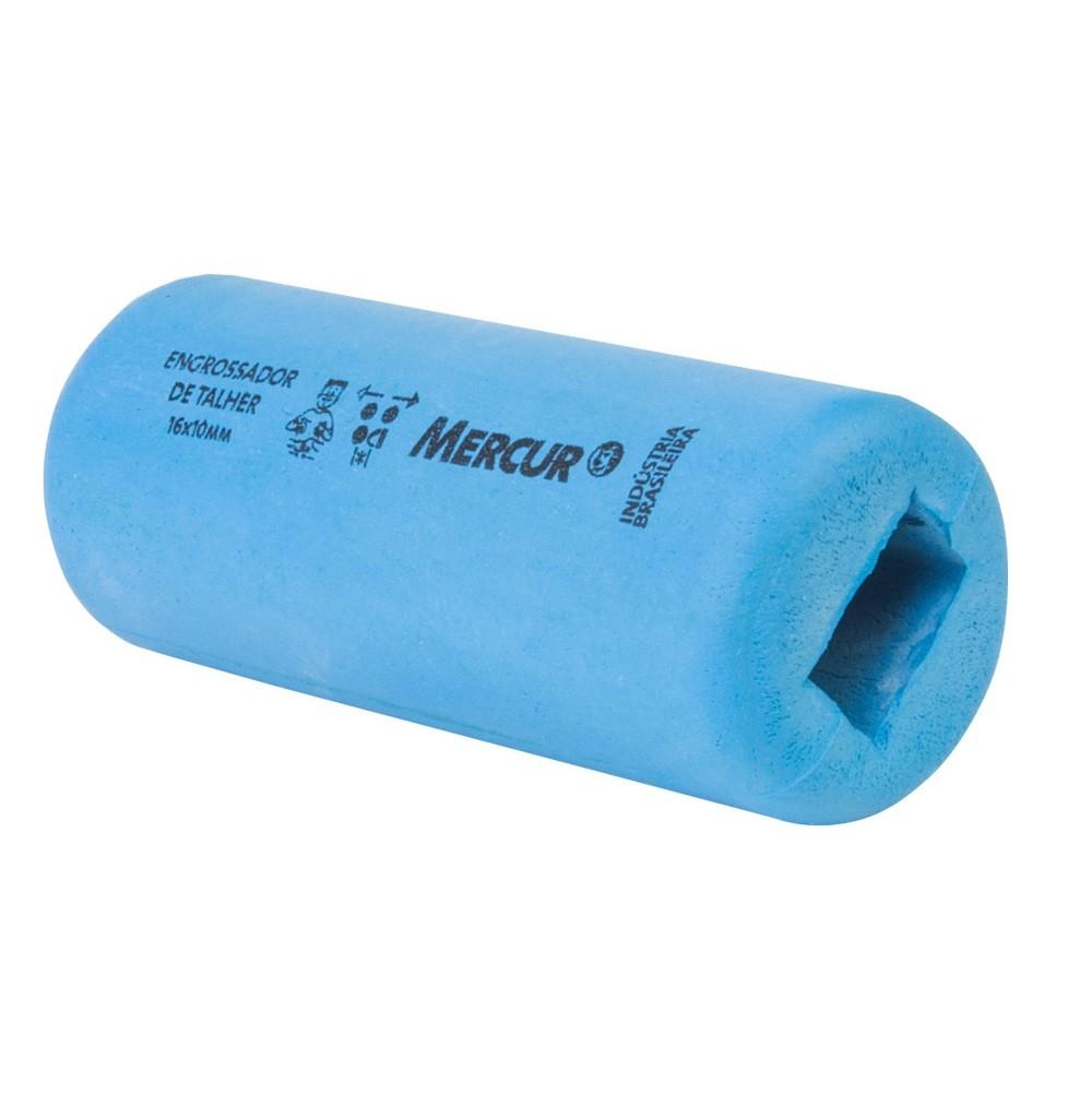 Engrossador de talheres com cabo de madeira/plástico