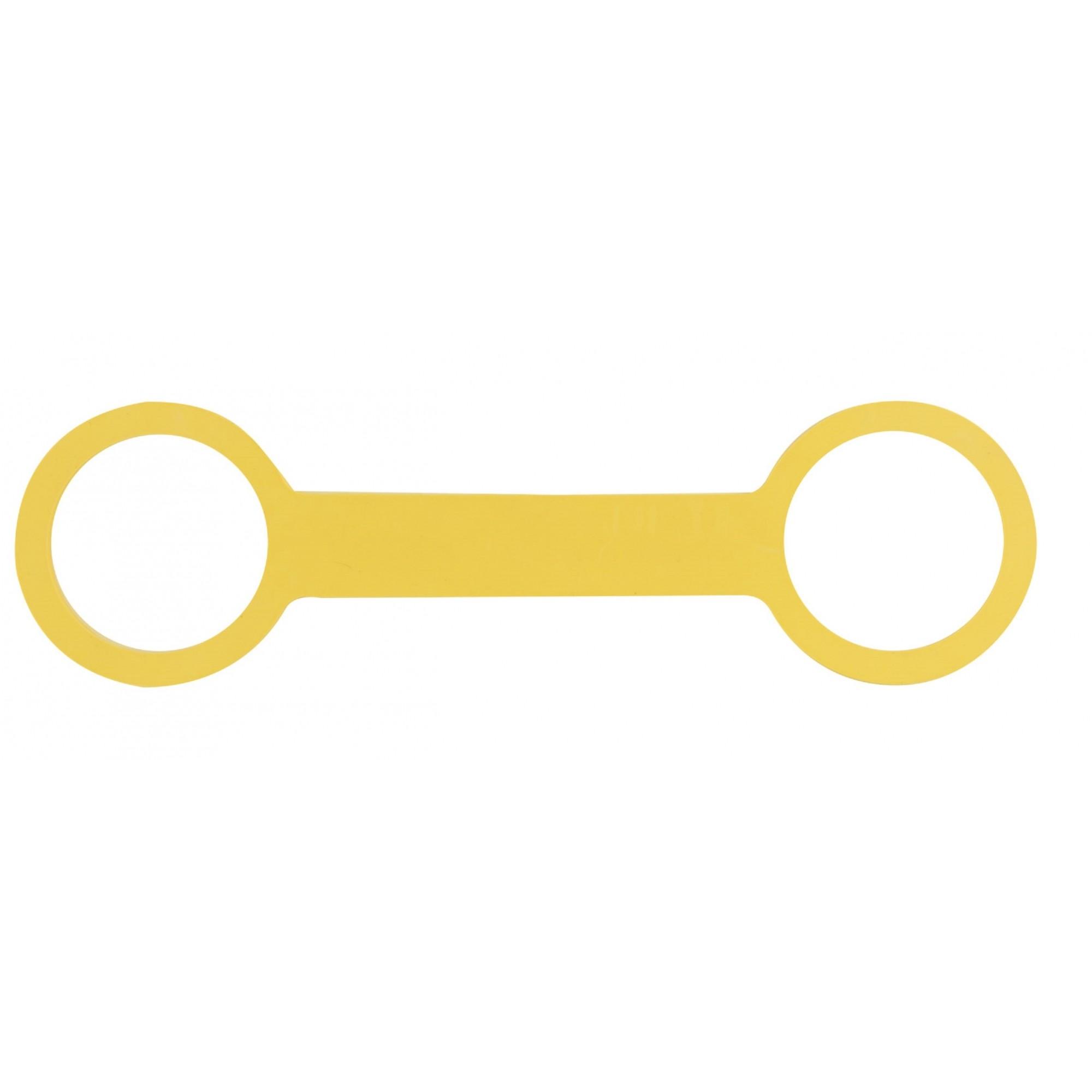 Fixador em Alça Dupla PP/P Amarelo