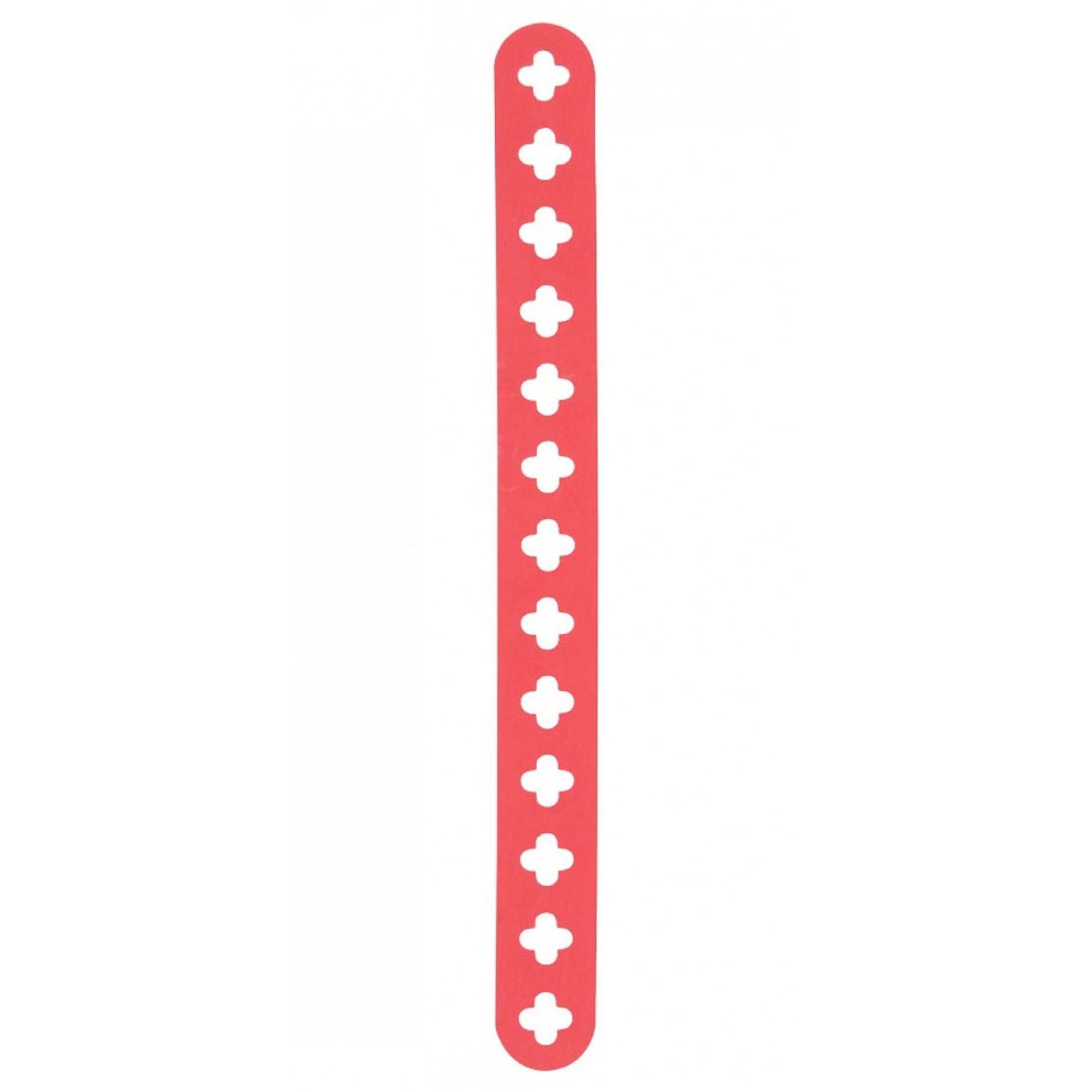 Fixador em Tira 20cm Vermelho